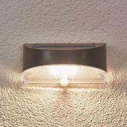 Lampa ścienna zewnętrzna zasilana solarnie p9015s, 6x0.2 w, led wbudowany na stałe, 100 lm, 4100 k, ip44 ma