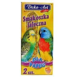 DAKO-ART Smakoszka - kolby jajeczne dla papug falistych 2szt.