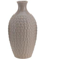 Ceramiczny wazon na kwiaty, dekoracje - wysoki, 28 x Ø 15 cm (8719202117332)