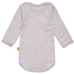 Steiff Collection 3 PACK Body softgrey melange/gray z kategorii body niemowlęce