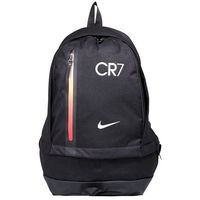 Nike Performance CR7 CHEYENNE Plecak black/track red/metallic silver