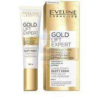 Eveline Gold Lift Expert Luksusowy złoty krem pod oczy i na powieki 15 ml z kategorii kremy pod oczy