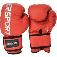 Axer sport Rękawice bokserskie  a1336 czerwony (14 oz) (5901780913366)
