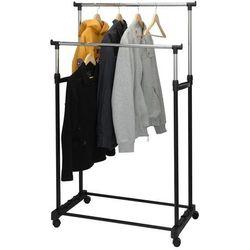 Podwójny wieszak na ubrania - szafa na kółkach, B008V7ES16