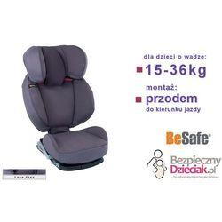 Fotelik iZi Up X3, 4-12 lat (15-36kg), BESAFE - Lava Grey ()