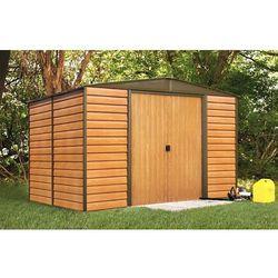 Arrow Metalowy domek ogrodowy woodridge 3,1 x 2,4 m