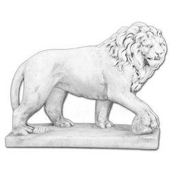Figura ogrodowa betonowa lew 57cm