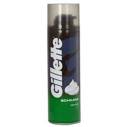 shave foam menthol 300ml m pianka do golenia wyprodukowany przez Gillette