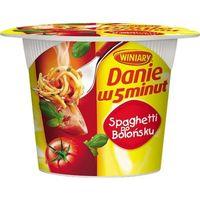 WINIARY 57g Danie w 5 minut Spaghetti po bolońsku | DARMOWA DOSTAWA OD 150 ZŁ!