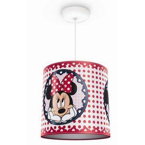 Philips 71752/31/16 - lampa wisząca dziecięca disney minnie mouse 1xe27/23w/230v