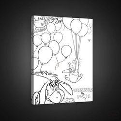 Consalnet Obraz kubuś puchatek i przyjaciele - disney pkd1794o4