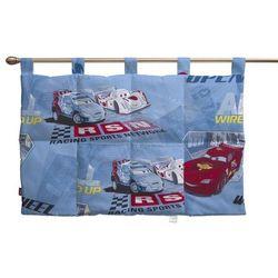 Dekoria Wezgłowie na szelkach, samochody na niebieskim tle, 90 x 67 cm, Freestyle