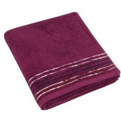 Bellatex  ręcznik kąpielowy fiona bordowy, 70 x 140 cm