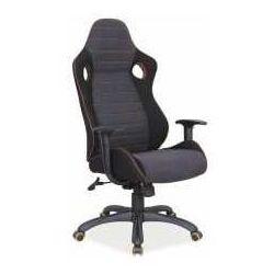 Fotel Q-229 czarno-szary - ZADZWOŃ I ZŁAP RABAT DO -10%! TELEFON: 601-892-200