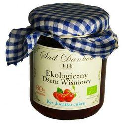 Dżem wiśniowy bez cukru 260g bio eko  wyprodukowany przez Sad danków