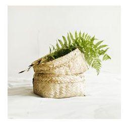 bambusowy kosz - średni z rantem, Br02
