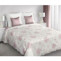 narzuta na pościel jenifer różowe kwiaty, 220 x 240 cm marki My best home