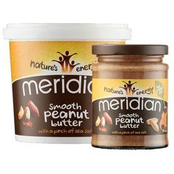 natural peanut butter smooth 100% 280g, marki Meridian