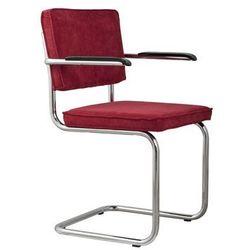 fotel ridge rib czerwony 21a 1006051 marki Zuiver