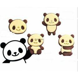 Plastikowe foremki wykrawacze ciastek- 8 szt panda marki Chinatrade