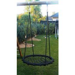 Huśtawka ogrodowa dla dzieci bocianie gniazdo, czarna