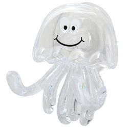 Wieszaczek GoodHome Piusa Medusa transparentny (3663602675389)