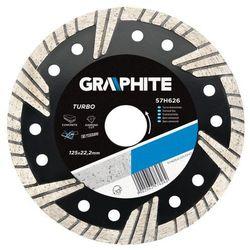 Tarcza diamentowa GRAPHITE 230 22.2 mm. turbo - produkt z kategorii- Tarcze do cięcia