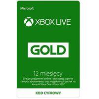 Kod aktywacyjny MICROSOFT Xbox Live Gold 12 miesięcy
