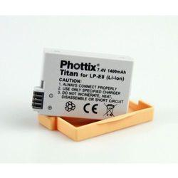 Akumulator Phottix Li-ion LP-E8, kup u jednego z partnerów