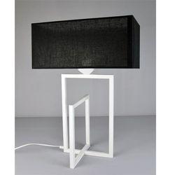 Namat Lampka nocna cross white 2511 - biały/czarny