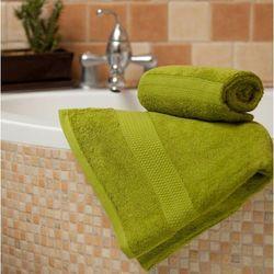 Dekoria Ręcznik Evora zielony, 70x140 cm