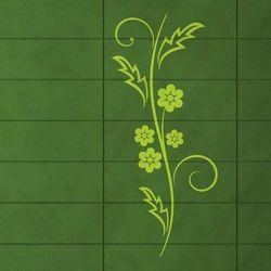 Wally - piękno dekoracji Szablon malarski kwiaty 1227