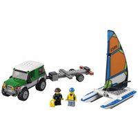 Lego CITY Terenówka 4x4 z katamaranem 60149