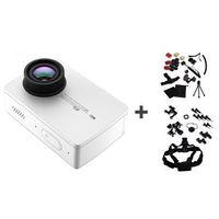 Xiaomi Kamera Xiaoyi Yi Action 2 biała + Akcesoria