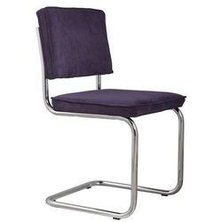 krzesło ridge rib purpurowe 15a 1006008 marki Zuiver