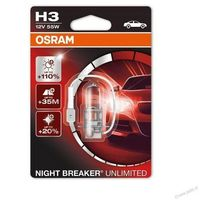 Żarówka OSRAM H3 55W 12V Night Breaker Unlimited 64151NBU 1szt.