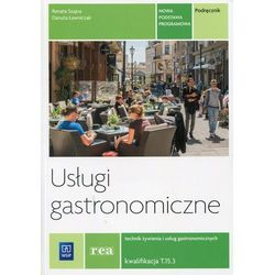 REA - Usługi gastronomiczne. Kwalifikacja T.15. Podręcznik d, książka z ISBN: 9788302150395