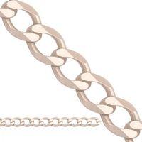 Złoty łańcuszek z białego złota , marki Lp011c