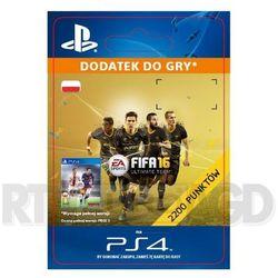 Fifa 16 2200 punktów [kod aktywacyjny] wyprodukowany przez Sony