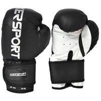 Axer sport Rękawice bokserskie - czarno-biały, kategoria: rękawice do walki