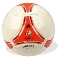 Piłka Adidas TANGO 12 Glider biało-czerwona - Biało - czarny