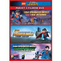 LEGO LIGA SPRAWIEDLIWOŚCI: KOLEKCJA 3 FILMÓW (3DVD) (KOSMICZNE STARCIE, LEGION ZAGŁADY, LIGA BIZARRO)