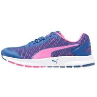 Puma DESCENDANT V4 Obuwie do biegania treningowe true blue/knockout pink