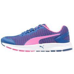 Puma DESCENDANT V4 Obuwie do biegania treningowe true blue/knockout pink