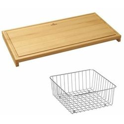 Villeroy & boch zestaw deska + koszyk 8k991000 >>odbierz rabat nawet do 300 pln<< (4051202362300)