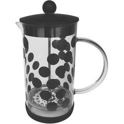 Kawiarka do zaparzania kawy Dot Dot 1 Litr ZAK! Designs czarna (0015-880), 0015-880 (7007285)
