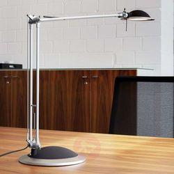 Lampka LED na biurko MAULbusiness, 11W, srebrno-czarna, M8204095