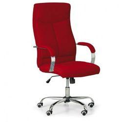 Fotel biurowy lugo tex, czerwony marki B2b partner