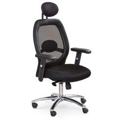 MARK fotel gabinetowy czarny
