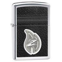 Zapalniczka  płomyk zippo logo, high polish chrome marki Zippo